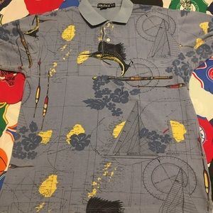 Vintage Nautica Swordfish polo shirt